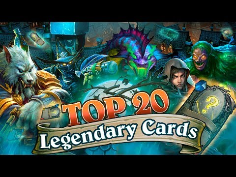 ​ The Best Legendary Cards from The Witchwood. New Hearthstone Meta Decks (first week's results)