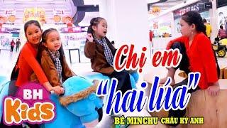 Chị Em Hai Lúa ♫ Bé MinChu ft Châu Kỳ Anh ♫♫ Nhạc Thiếu Nhi Vui Nhộn - Thím Hai Lúa