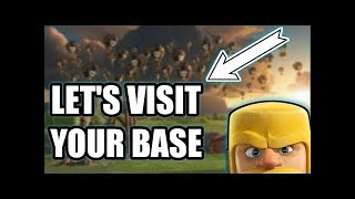 Let's visit Your Base |  coc | Clash Of Clans ||Coc ||Live Stream 2018