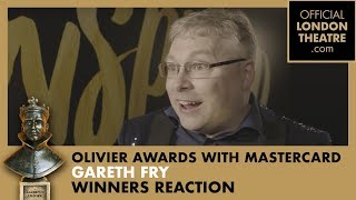 Winners Reaction: Gareth Fry for Harry Potter And The Cursed Child