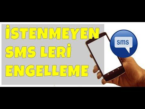 Samsung Mesaj SMS Engelleme: Mesaj Kodu � Engelleme