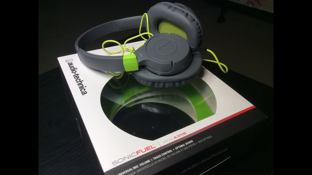 Audio Technica Headphones Sonic Fuel Sonicfuel Over Ath Clr100is With Mic Black Unboxing Ax1is Youtube Review