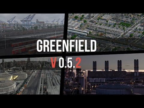 Greenfield - The Largest City In Minecraft - V0.5.2