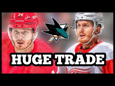 Gustav Nyquist TRADED To The San Jose Sharks