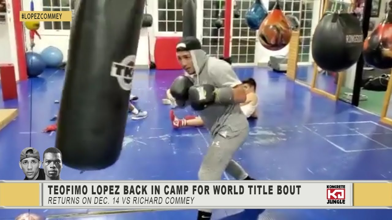 Teofimo Lopez Starts Training Camp For ...
