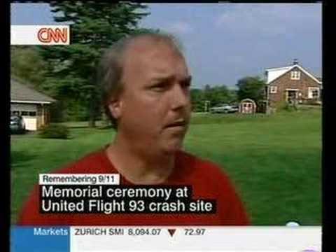 Flight 93 eyewitness admits not seeing dead bodies