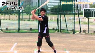打撃編・正しいスイングのイメージ(1)【仁志敏久から学ぶ野球の基礎・基本】 thumbnail
