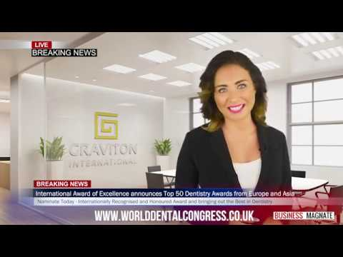 IAE Dentistry Awards 2018 - WORLD NEWS