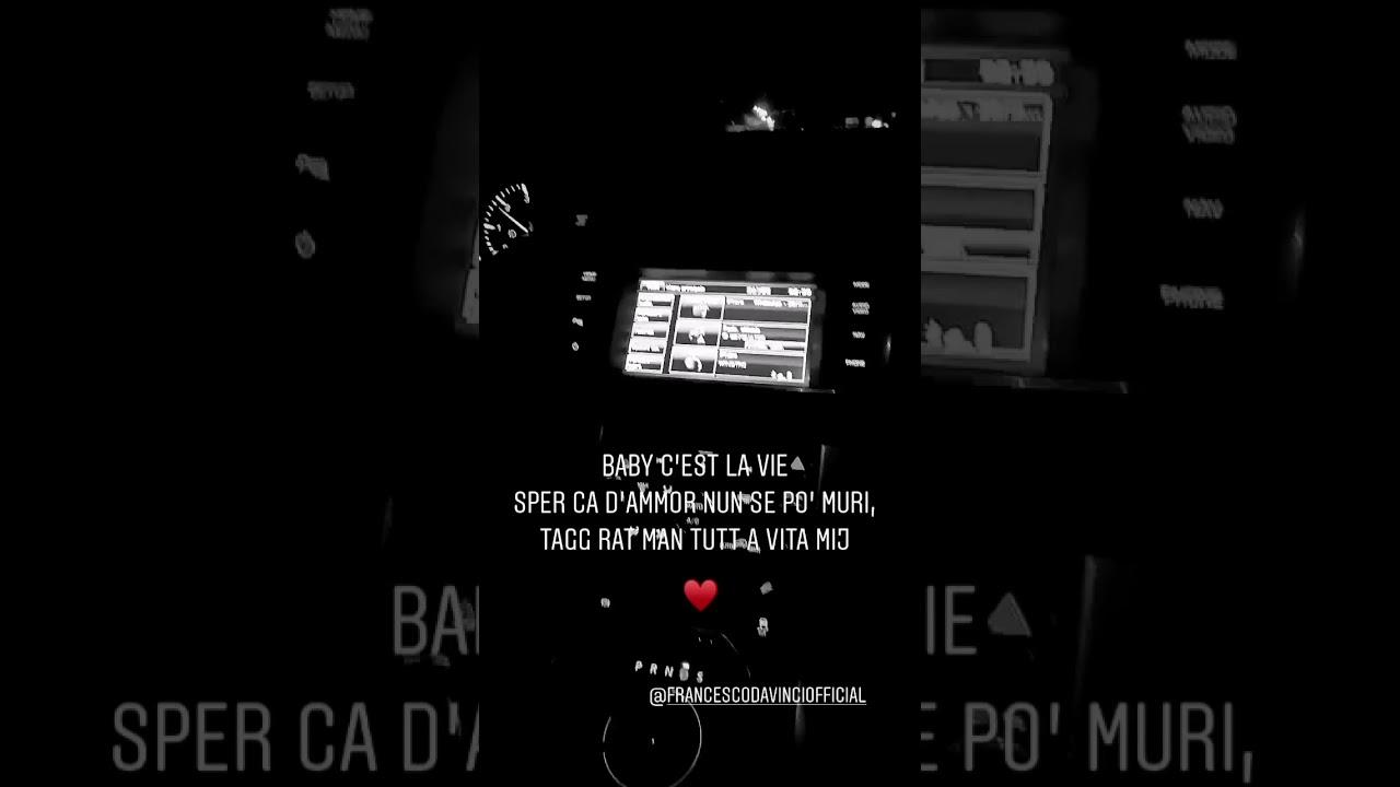 Francesco Da Vinci Feat Marco CALONE - baby c'est le vie (ANTEPRIMA 2020)