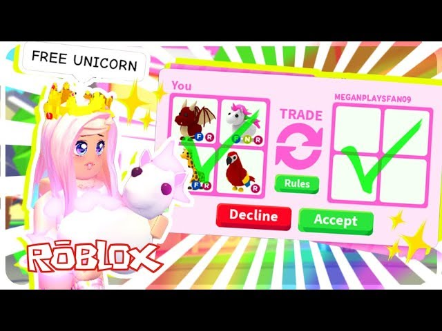 I Surprised My Fans With Free Legendary Pets In Roblox Adopt Me