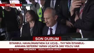 İstanbul Havalimanı'ndan ilk uçuş