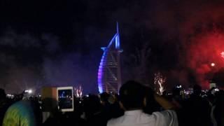WeNggay-Burj Al Arab 2016 Fireworks!!!