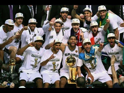 San Antonio Spurs 2014 Championship