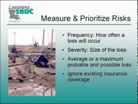 Protecting Your Business:  Measuring & Prioritizing Risks