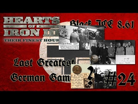 Hearts of Iron 3: Black ICE 8.6 - 24  (Germany) Munich Agreement, will there be peace?