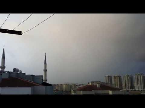 Gök gürlemesi... 12.08.12/06.50/Başakşehir