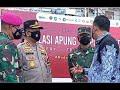 Walikota Bobby Nasution dan Kapolres AKBP M.Dayan Dampingi Menteri Sapa Pasien Isoter KM Bukit Raya