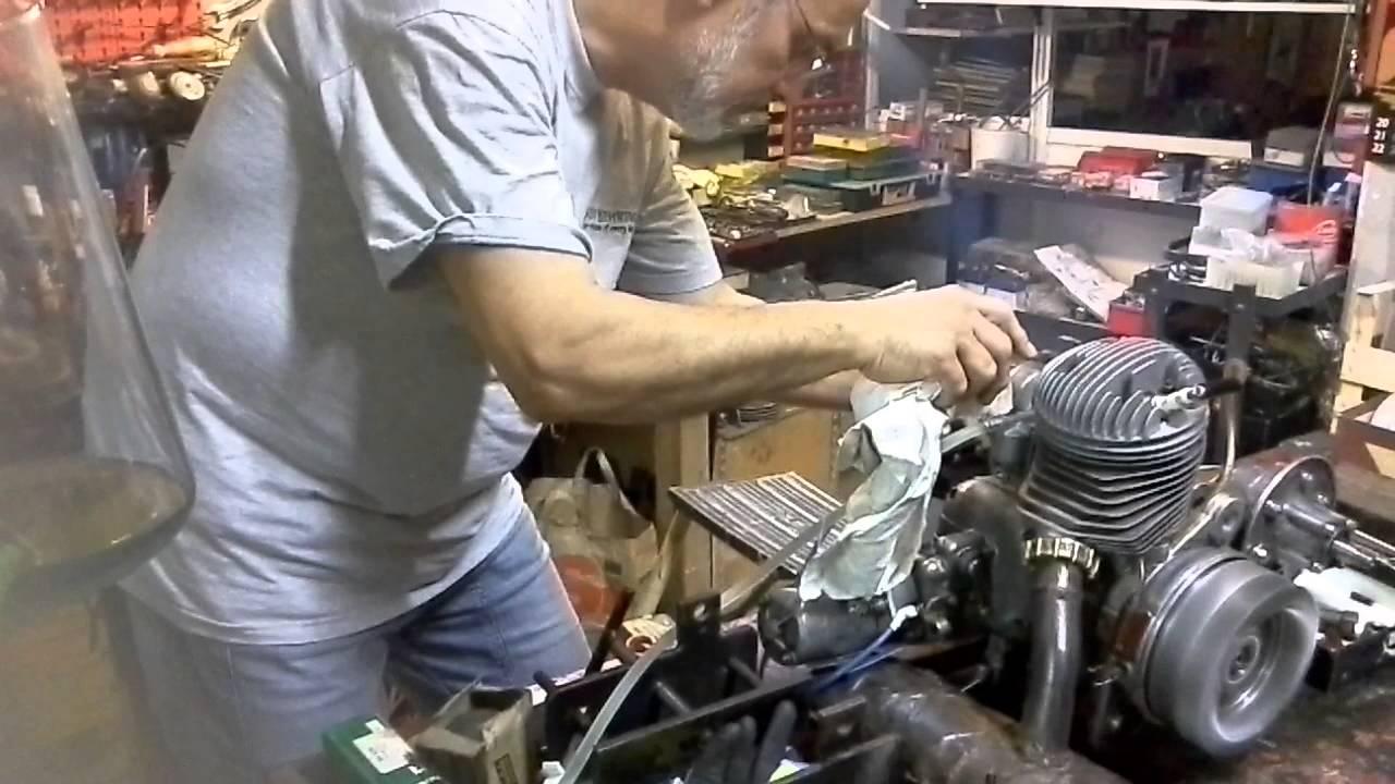 Schema Elettrico Lambretta J50 : Lambretta avviamento elettrico prova motore youtube