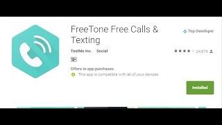 freetone free call anyway