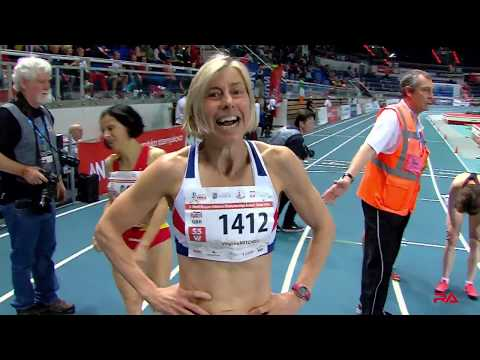 World Record Masters W55 800m Indoor at Torun 2019