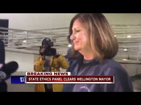 State ethics panel clears Wellington mayor Anne Gerwig