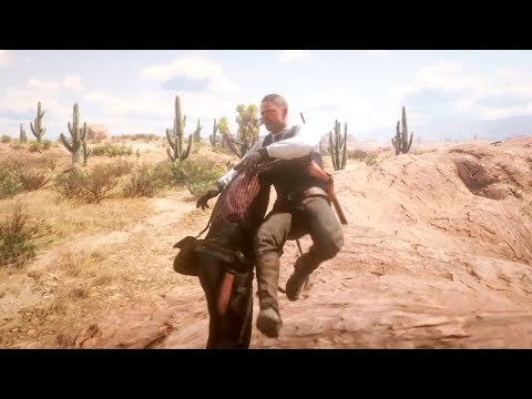 Red Dead Redemption 2 Gore - Funny & Brutal Moments Vol. 13 (Euphoria Ragdolls)