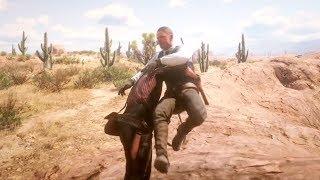 Red Dead Redemption 2 - Funny & Brutal Moments Vol. 13 (Euphoria Ragdolls)