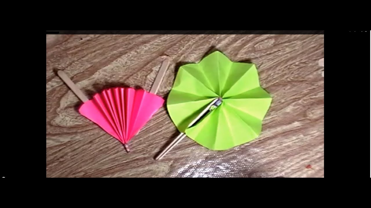 Como hacer abanicos de papel youtube - Como hacer cadenetas de papel para fiestas ...