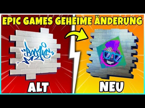 Epic Games Geheime Spray Änderung | Alt vs. Neu - Fortnite Battle Royale