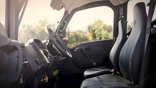 John Deere | Gator transportfordon: Lädersäte med högt ryggstöd