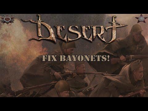 DESERT - Fix Bayonets ! (Fortune Favors The Brave / 2019)
