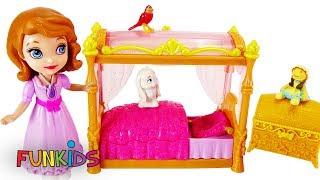 Disney Princess Sofia the First & Amber Bedtime Routine