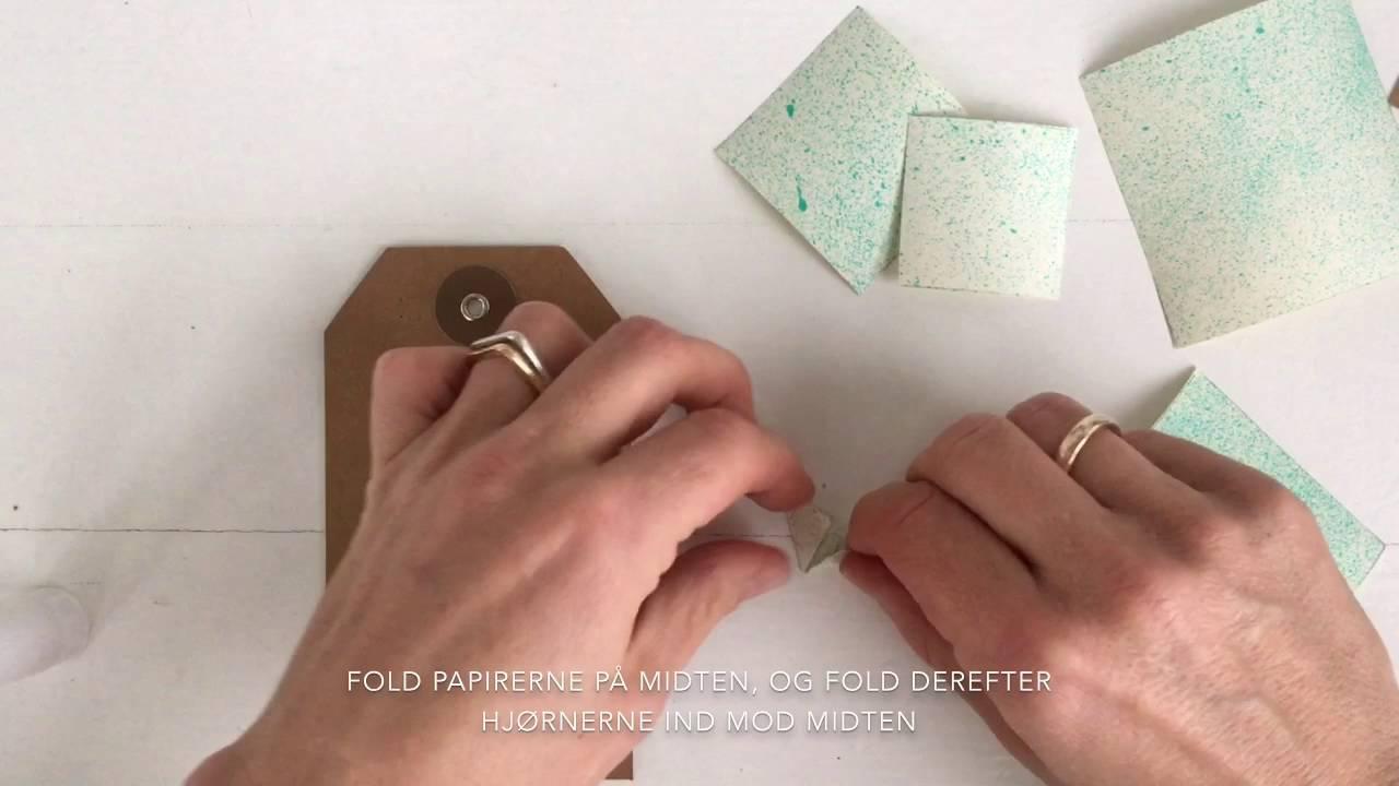 Boligliv Origami Juletræer