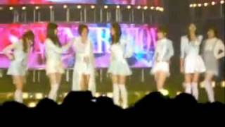 080225 sick SNSD Yoona during GG encore recording