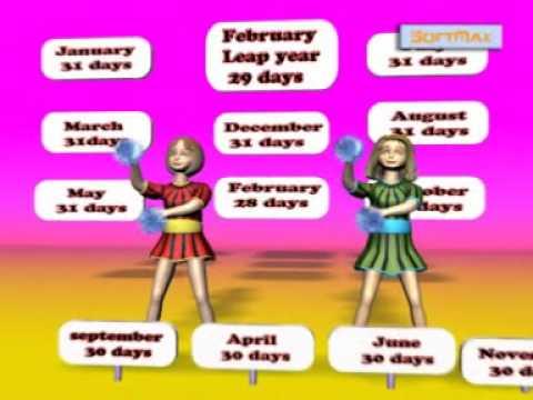 30 days has september  Nursery Rhymes