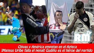 LO QUE NO VISTE DEL CLÁSICO NACIONAL 231 // AMÉRICA 1-1 CHIVAS // RESUMEN Y GOLES