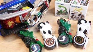 シグナルバイクDXと食玩に意外な違いが...SGシフトカー4 マッハとマガールを全DX玩具で音声確認レビュー!食玩 シフトカーシリーズ 仮面ライダードライブ thumbnail