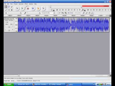 How to rip music from Myspace...