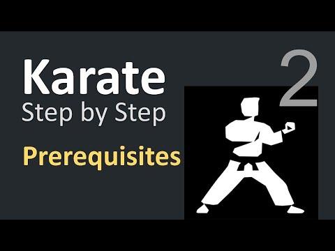 Karate Beginner Tutorials 2   Prerequisites & Setup