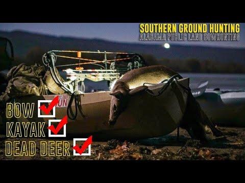 Bow Hunting Alabama Public Land SUCCESS | Kayak Hunting