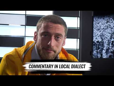 #JChallenge: Marchisio speaks local language!