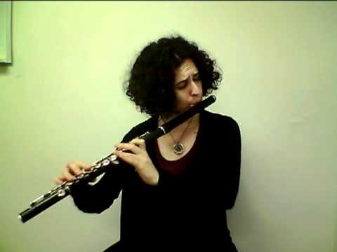 "Hadar Noiberg (Israeli flutist): interview P.4, playing the flute on ""Persian Love Story"""