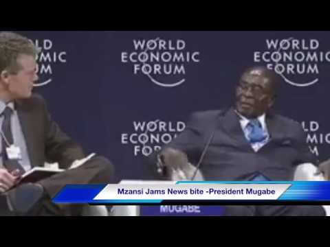 President Mugabe Zimbabwe is a Second most developed country in Africa