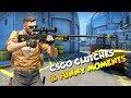 CSGO Clutches & Funny Moments #2   Cringe Alert :)