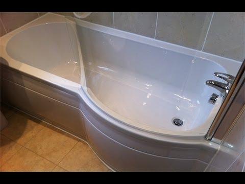 Richard Richards Bathroom P Shape Bath Newton Hyde Tameside