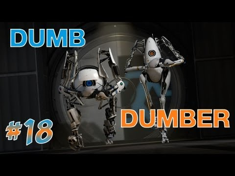 Portal 2, Boot Camp, Ep.18 - Dumb and Dumber - 동영상