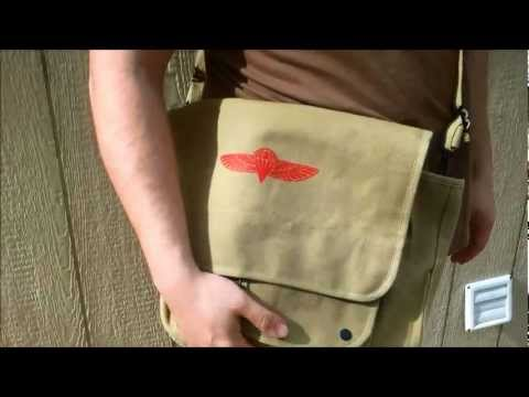 Review: Rothco Paratrooper Shoulder Bag