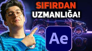 SIFIRDAN Adobe After Effects CC 2020 Dersleri (Video Montaj \u0026 Edit Yapma)