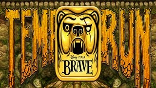 Temple Run: Brave iPhone/iPad Gameplay (Universal App)