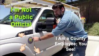 Rude County Employees Think They Can Treat People However They Want(Fail To ID)-1st Amendment Audit